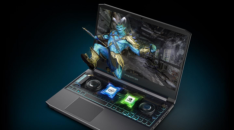 ایسر ACER PH3 RTX2070 لپ تاپ گیمینگ پردیتور هلیوس غول گرانترین لپ تاپ بازی بالاترین گرافیک فروشگاه اینترنتی ال دیجیتال بندرعباس نمایندگی ایسر
